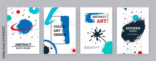 Canvastavla Paint brush poster