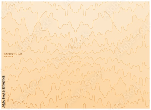Background from horizontal wavy lines Wallpaper Mural