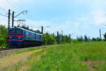Ukrainian Shunting Metal Blue ...