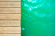 Summer Background, Wooden Foot...