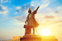 Columbus Statue In Santo Domin...