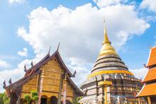 Wat Phra That Lampang Luang, Lampang Thailand.