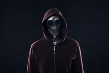 Monster Skull In The Hood