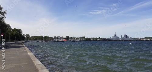 Fototapeta Tirpitzmole, Kiel