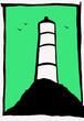 Leinwanddruck Bild - Lighthouse