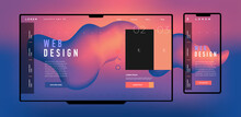 Interface Design. Vector Image...