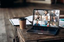 Virtual Meeting Online. Video ...