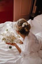 Wedding, Bride, Bouquet, Flowe...