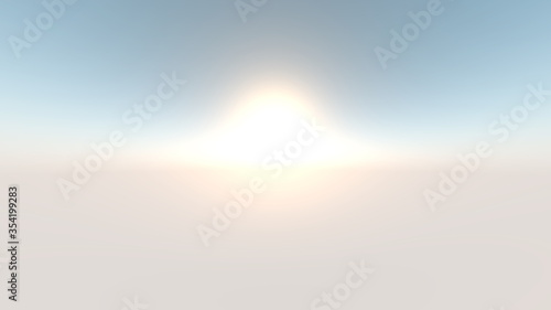 Obraz 地平線 - fototapety do salonu