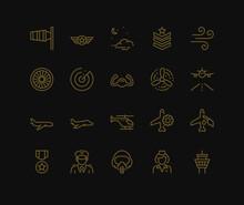 Aviation Icons.