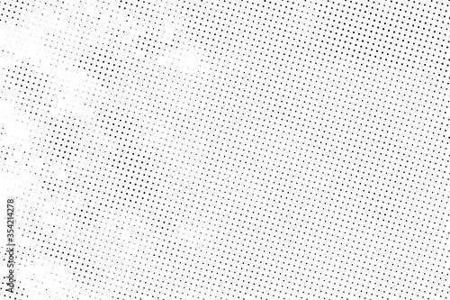 Leinwand Poster Light halftone dots grunge background