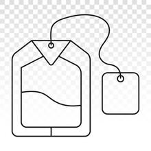 Teabags / Tea Bag Line Art Ico...