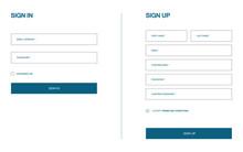 Log In And Registration Form. ...