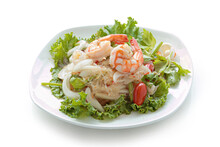 Thai Spicy Seafood Salad With ...