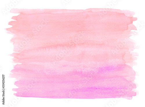 Fototapety, obrazy: watercolor-gradation