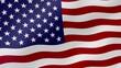 USA national flag waving