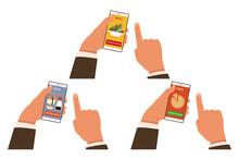 Online Food Order Vector Conce...