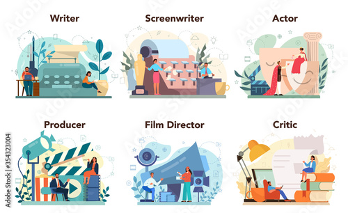 Valokuva Film production profession set