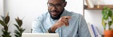 Millennial African Employee Si...
