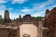 Leinwanddruck Bild Inside Wat Maha That in Ayutthaya province, Thailand.