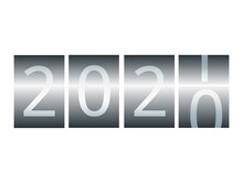 New Year Counter. Calendar For...