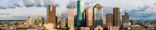 Fotografia Aerial Views Of The City Of Charlotte, North Carolina
