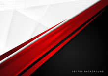Template Corporate Concept Red...