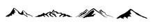 Mountain Icon Logo. Vector Ill...