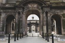 Entrance To John Street Glasgow, Glasgow City Chambers.