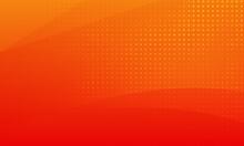 Minimal Orange Gradient Backgr...