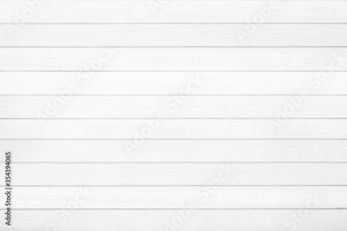 Fotografía Empty plank white wooden wall texture background