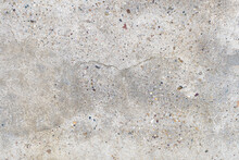 Old Stained Concrete Wall With...