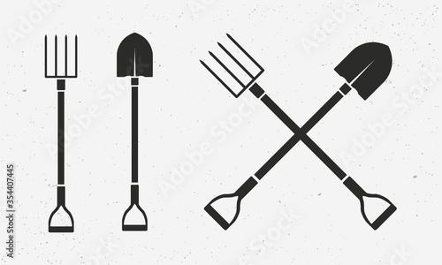 Fotografia, Obraz Gardening tools set