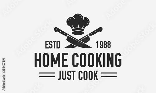 Tela Home Cooking vintage logo