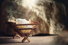 Christian Christmas Concept. B...