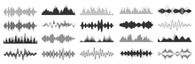 Sound Waves Collection. Analog...