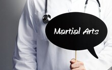 Martial Arts. Doctor With Stet...