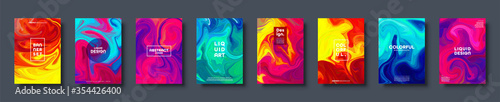 Colorful abstract geometric background Fototapeta