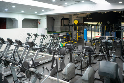 Gym room business without people Fototapet