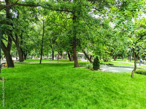 Tsar Simeon Garden in City of Plovdiv, Bulgaria Fototapet
