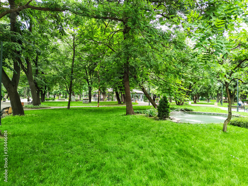 Fotografija Tsar Simeon Garden in City of Plovdiv, Bulgaria