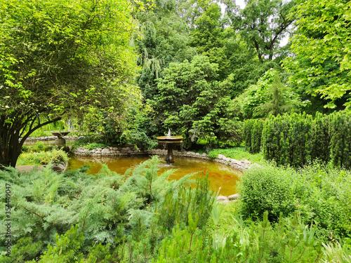 Tsar Simeon Garden in City of Plovdiv, Bulgaria Fototapeta