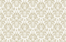 Vintage Abstract Pattern In Da...