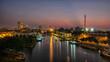 Sunrise at Port of Malacca, Malaysia.