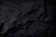 Leinwandbild Motiv black stone natural background, dark grey slate