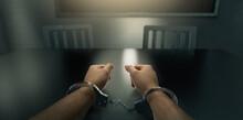 Handcuffed Hands In An Interro...