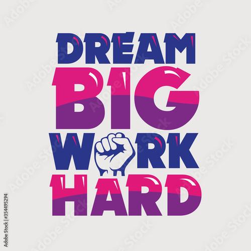 Photo creative lettering motivation quote design
