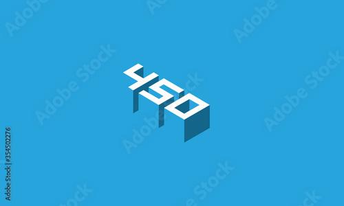 450 logo Fototapet