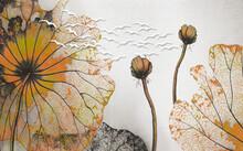 3d Illustration, Gray Textured...