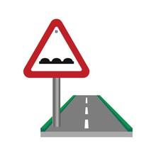 Uneven Road Sign